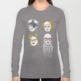 A Series of Unfortunate Events' Count Olaf Long Sleeve T-shirt