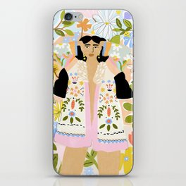 I Want To See The Beauty In The World iPhone Skin