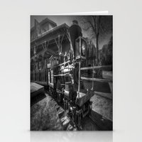 train Stationery Cards featuring Train by John Hinrichs