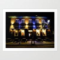 Pub Life in England Art Print