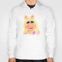 muppets Hoodies featuring Miss Piggy, The Muppets by KitschyPopShop
