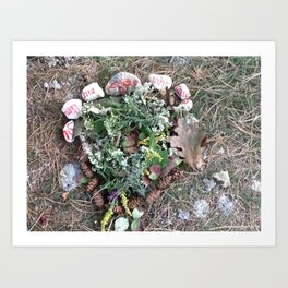 Offerings to Mihr Art Print