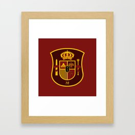 WASFC (Spanish) Framed Art Print