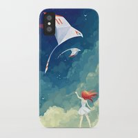 freeminds iPhone & iPod Cases featuring Flyby by Freeminds