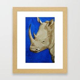 Rhinosophical Framed Art Print