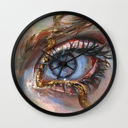 Gilded Wall Clock