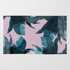Tropical Palm Print #2 Rug