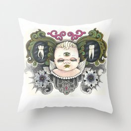 All Knower Throw Pillow