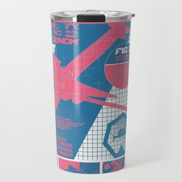 The Swordfish II Manufacturer's Guide (Cowboy Bebop) Travel Mug