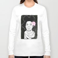 basquiat Long Sleeve T-shirts featuring Basquiat by DonCarlos
