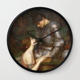 John William Waterhouse - Lamia Wall Clock
