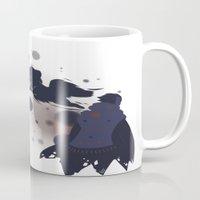 dmmd Mugs featuring Take me away by Aspen Bear