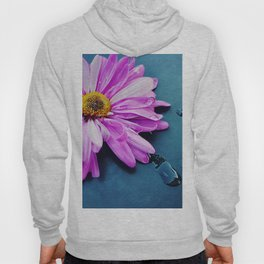 pink Flower From New York  Hoody