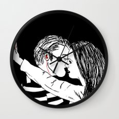 connected love Wall Clock
