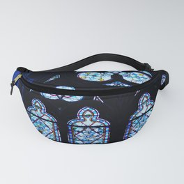 Notre Dame Stained Glass - Interior Fanny Pack
