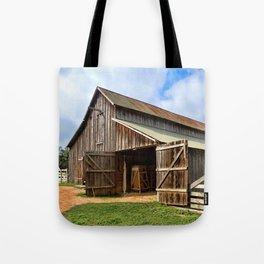 Who Left The Barn Door Open? Tote Bag