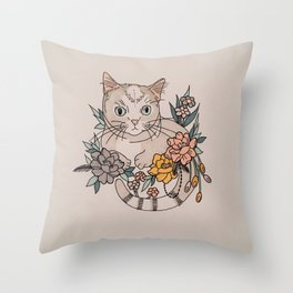 Be Like The Squirrel Girl Throw Pillow