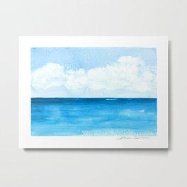 Elena's Ocean Metal Print