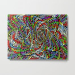 Astray Colors Metal Print