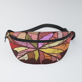 Colorful maple leaf Fanny Pack