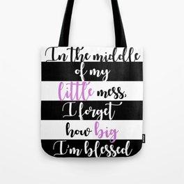 big little quote (big little reveal, sorority, sorority quote) Tote Bag