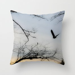 My Friend, The Eagle Throw Pillow