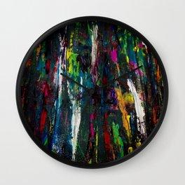 Dark abstract Wall Clock