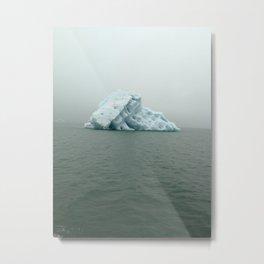 Jokulsarlon Iceberg Metal Print