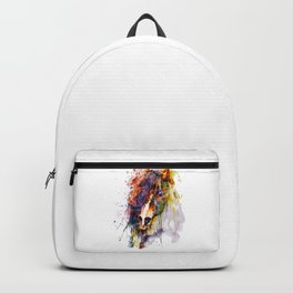 Abstract Horse Head Backpack