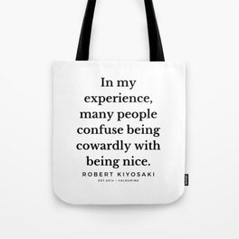 22  |  Robert Kiyosaki Quotes | 190824 Tote Bag