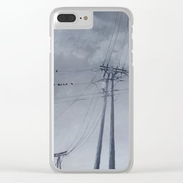 The Sky of the Man Clear iPhone Case