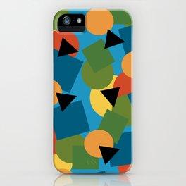 Geo-Toss iPhone Case