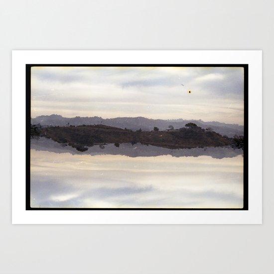 landscapes nuart (35mm multiple exposure) Art Print