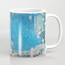 Henri Le Sidaner - Small Table in Evening Dusk (new color editing) Coffee Mug