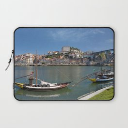 Porto wine barges and city Laptop Sleeve