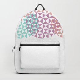 overlapping circles Backpack
