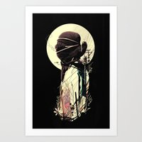 tangled Art Prints featuring Tangled by nicebleed