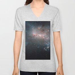 Starburst - Captured by Hubble Telescope Unisex V-Neck