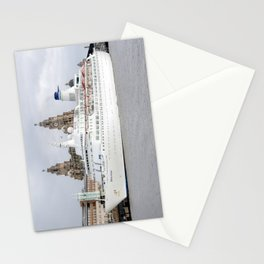 MV Discovery cruise liner Stationery Cards