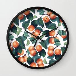 Tropical Fruit #society6 #decor #buyart Wall Clock