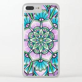 Mandala IV Clear iPhone Case