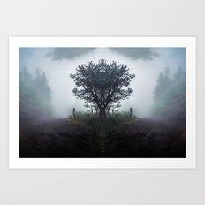 Kaleidoscape: Pacaya Art Print