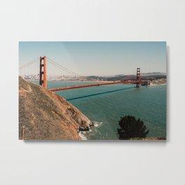 Golden Gate Bridge SF | Fine Art Travel Photography Metal Print