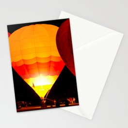 Balloon Glow, Albuquerque, NM Stationery Cards