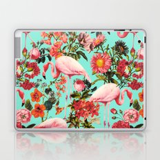 Floral and Flemingo IV Pattern Laptop & iPad Skin