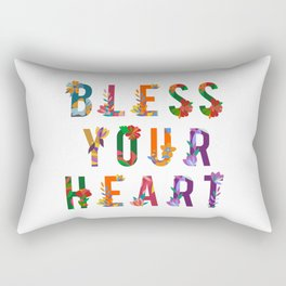 Bless Your Heart Meaning Southern Insult Humor Rectangular Pillow