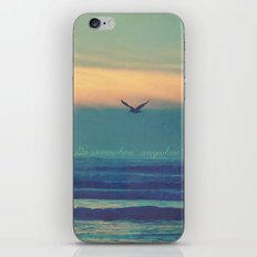 Go Somewhere... iPhone & iPod Skin