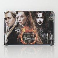 legolas iPad Cases featuring kili,legolas,tauriel,the hobbit,lord of the rings by ira gora