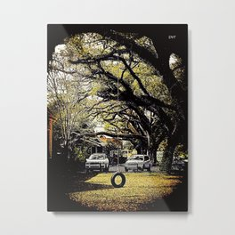 Tire Swing 1002 Metal Print