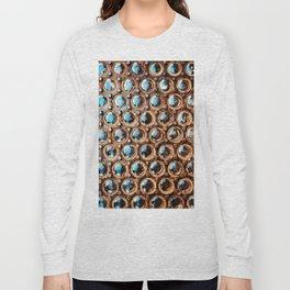 Manhattan Sidewalk Vault Lights Long Sleeve T-shirt